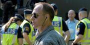 Arkivbild. Säpo och andra poliser startar sitt jobb under Almedalsveckan 2011.  JANERIK HENRIKSSON / TT / TT NYHETSBYRÅN