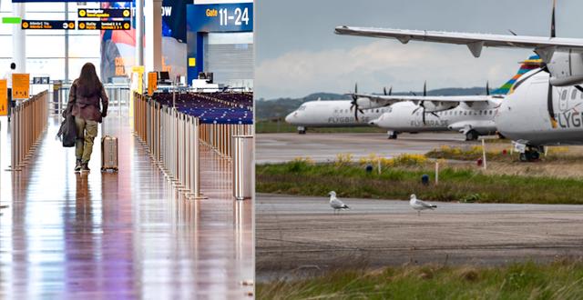 Flygplats.  TT