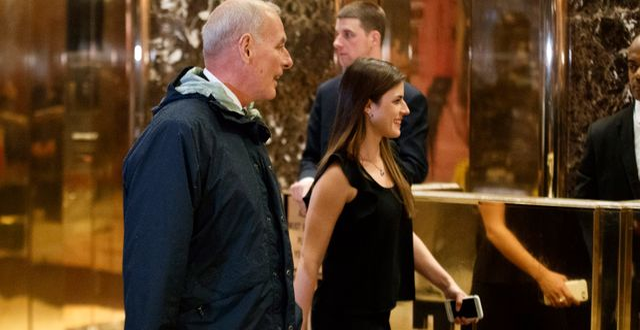 John Kelly i Trump Tower. Evan Vucci / TT / NTB Scanpix