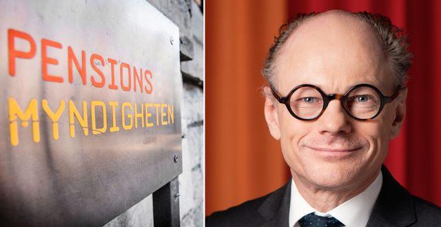 Ole Settergren, analyschef på Pensionsmyndigheten. TT och pressbild Pensionsmyndigheten