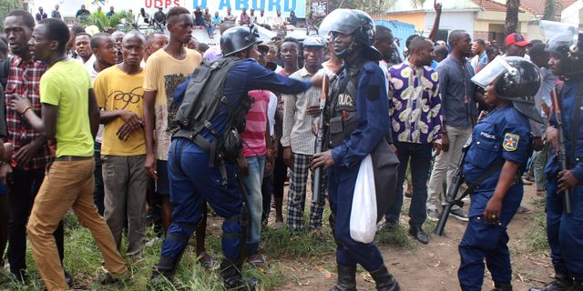 Arkivbild: Oroligheterna i Kongo-Kinshasa. John bompengo / TT / NTB Scanpix