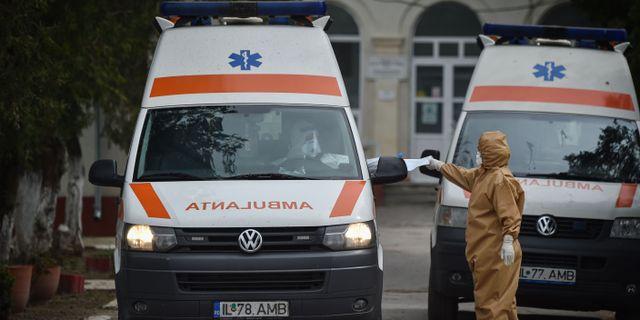 Rumänskt sjukhus under coronapandemin. Arkiv.  DANIEL MIHAILESCU / TT NYHETSBYRÅN