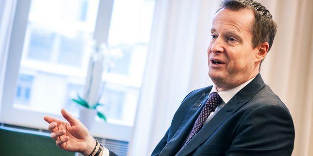 Anders Ygeman. Simon Rehnström/SvD/TT / TT NYHETSBYRÅN