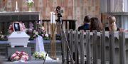 Begravning.  Janerik Henriksson/TT / TT NYHETSBYRÅN