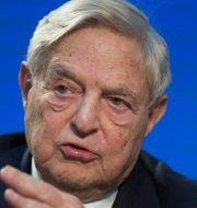George Soros. Thomas Peter / TT NYHETSBYRÅN