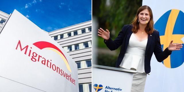 Anders sundstrom chattade infor valet i stockholm