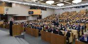 Ledamöterna i parlamentet duman.  ALEXEY NIKOLSKY / TT NYHETSBYRÅN