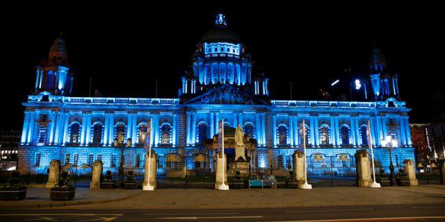 Statshuset i Belfast. JASON CAIRNDUFF / TT NYHETSBYRÅN