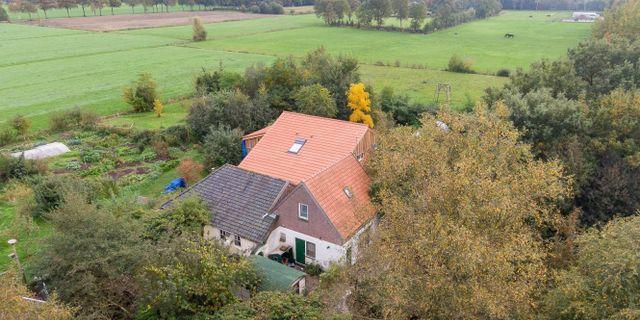 Huset i Nederländerna där fem barn isolerats. WILBERT BIJZITTER / ANP