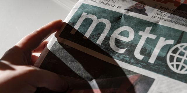 Tidningen Metro Naina Helén Jåma/TT / TT NYHETSBYRÅN