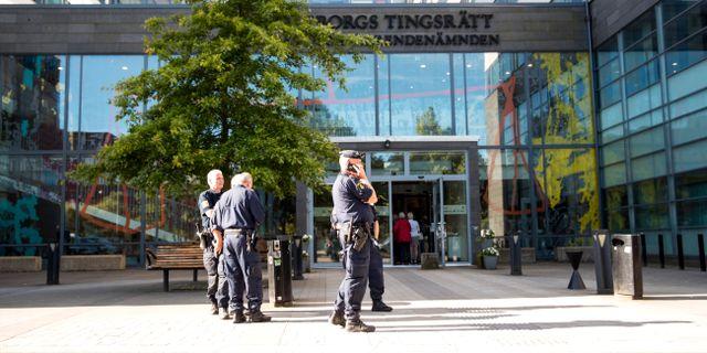Göteborgs tingsrätt.  ANDERS YLANDER/TT / TT NYHETSBYRÅN