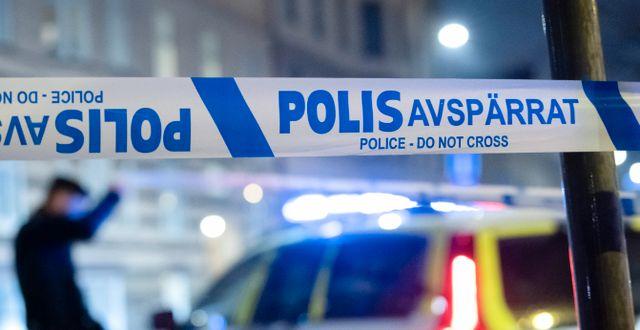 Avspärrning efter sprängning i Malmö. Illustrationsbild.  Johan Nilsson/TT / TT NYHETSBYRÅN