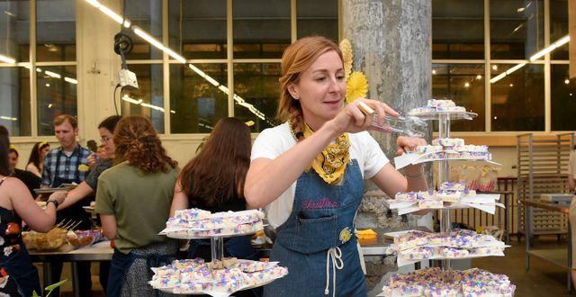 Nestlé visar upp sina produkter på en mässa. Diane Bondareff / TT NYHETSBYRÅN