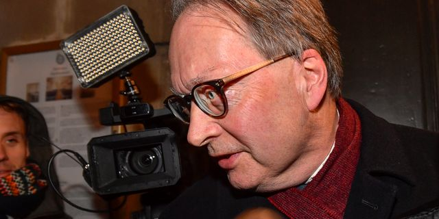 Horace Engdahl. Jonas Ekströmer/TT / TT NYHETSBYRÅN