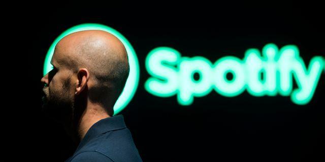 Spotifys vd Daniel Ek. Henrik Montgomery/TT / TT NYHETSBYRÅN