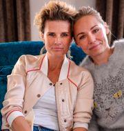 Arkivbild Christine Meltzer och Carina Berg. Per Larsson / TT / TT NYHETSBYRÅN