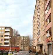 """Hyreshus som ägs av Victoria Park. MalmöBild / TT"""" / TT NYHETSBYRÅN"""