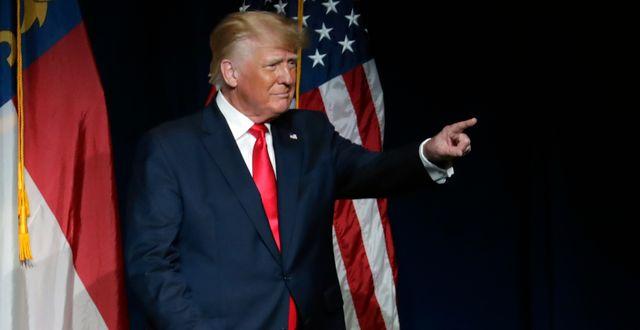 Donald Trump.  Chris Seward / TT NYHETSBYRÅN