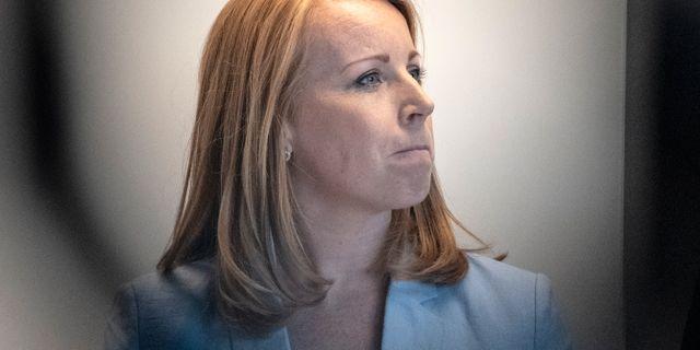 Annie Lööf (C). Björn Larsson Rosvall/TT / TT NYHETSBYRÅN