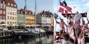 Nyhavn i Köpenhamn/Roskildefestivalen. Illustrationsbilder. TT