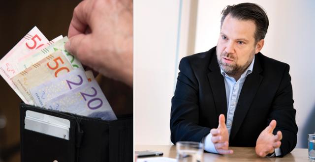 Johan Olsson på Säpo. TT