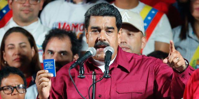 Nicolás Maduro. Ariana Cubillos / TT / NTB Scanpix