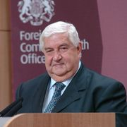 Walid Muallem. Wikimedia/Foreign and Commonwealth Office