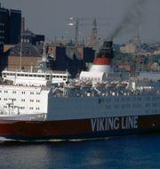 Fartyget Sally Viking. Wikipedia Commons/Mark Markefelt