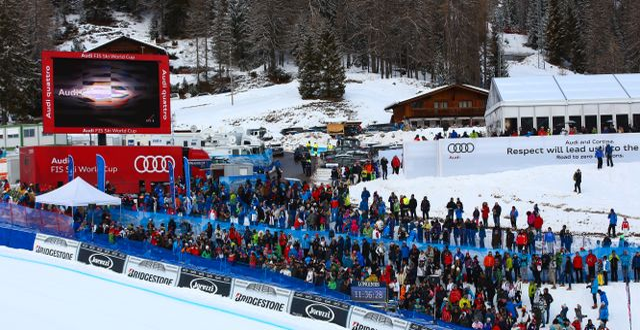 Cortina d'Ampezzo.  CH. KELEMEN / GEPA PICTURES