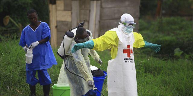 Arkivbild från ett behandlingscenter i Kongo-Kinshasa.