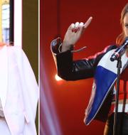 Kylie Minogue och Tove Lo. AP/TT