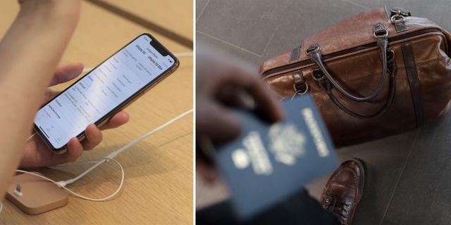 RushMyPassport är en ny app som gör det enklare att söka pass i USA. Patrick Sison/TT Nyhetsbyrån/Pexels