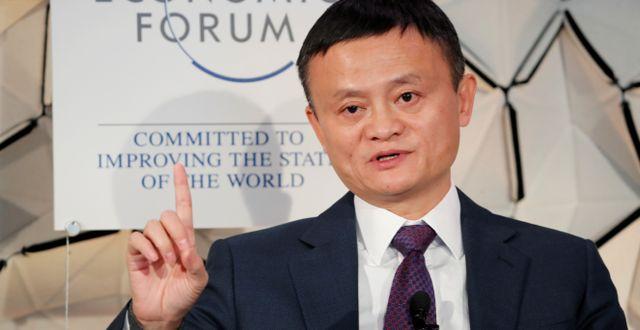 Jack Ma. Arkivbild. Arnd Wiegmann / TT NYHETSBYRÅN