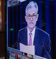 Fed-chefen Jerome Powell.  Richard Drew / TT NYHETSBYRÅN