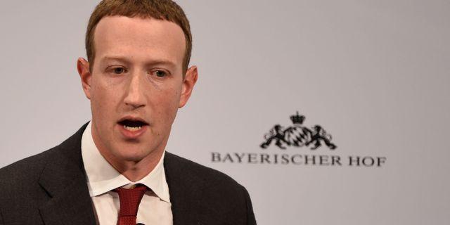 Facebooks vd Mark Zuckerberg. Jens Meyer / TT NYHETSBYRÅN