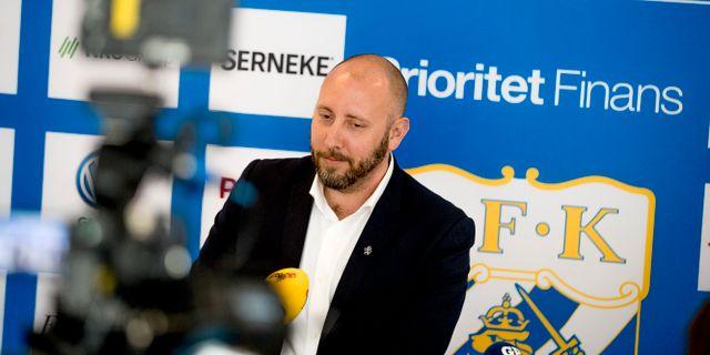 Max Markusson.  Adam Ihse/TT / TT NYHETSBYRÅN