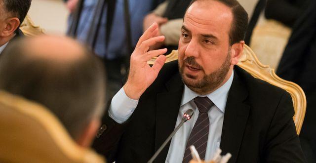 Nasr al-Hariri. Alexander Zemlianichenko / TT NYHETSBYRÅN
