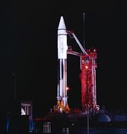 Raketen som Paul Chodas tror misstolkats som en asteroid. TT