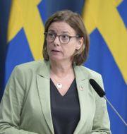 Isabella Lövin (MP) Amir Nabizadeh/TT / TT NYHETSBYRÅN