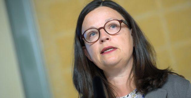Anna Ekström. Maja Suslin/TT / TT NYHETSBYRÅN