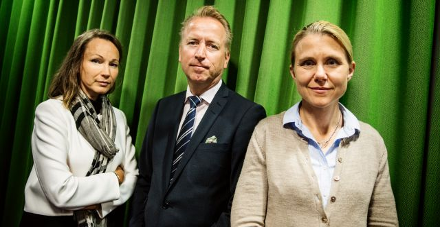 Jonas Olavi i mitten.  Emma-Sofia Olsson/SvD/TT / TT NYHETSBYRÅN