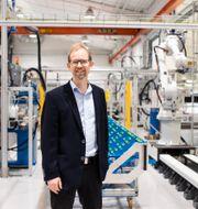 ser Joakim Byström, vd på Absolicon Solar Collector AB