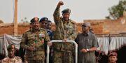 General Abdel Fattah al-Burhan är chef för militärjuntan. Hussein Malla / TT NYHETSBYRÅN/ NTB Scanpix