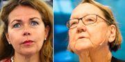 Cecilia Wikström och Marit Paulsen. TT