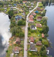 Björneborg vid sjön Vismen i Kristinehamns kommun i Värmland. Fredrik Sandberg/TT / TT NYHETSBYRÅN