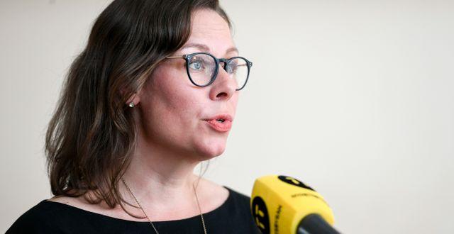 Maria Malmer Stenergard. Ali Lorestani/TT / TT NYHETSBYRÅN