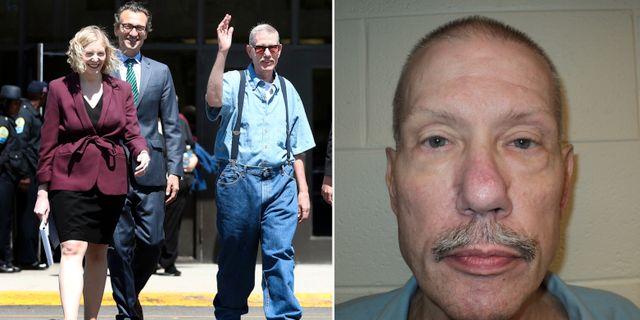 Domdes for mord frias efter 33 ar