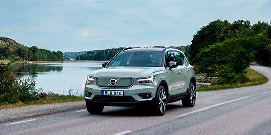 – Precis alla pratar om elektrifiering nu och intresset från kunderna är mycket stort. Det som krävs för att det verkligen skall ta fart är att infrastrukturen för laddning kommer på plats, säger Magnus Berg, företagssäljare på Volvo Car Stockholm.