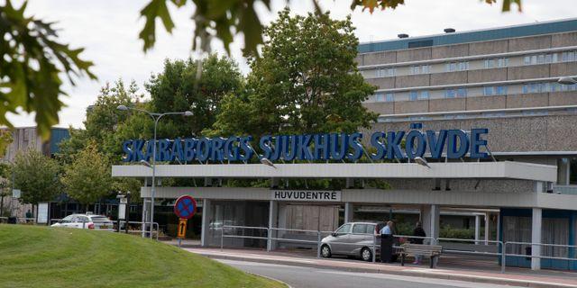 Treåringen dog på Skaraborgs sjukhus i Skövde. Wille Ihse/TT / TT NYHETSBYRÅN
