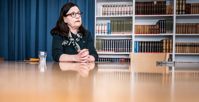 Anna Ekström (S). Magnus Hjalmarson Neideman/SvD/TT / TT NYHETSBYRÅN